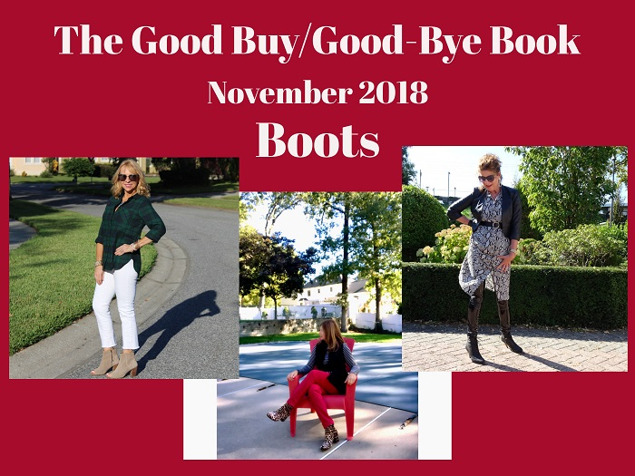 THE GOOD BUY/GOOD-BYE BOOK: BOOTS