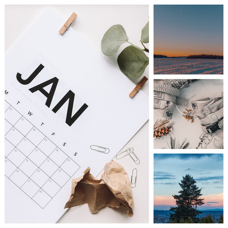 Sentence a day: January documenting our months