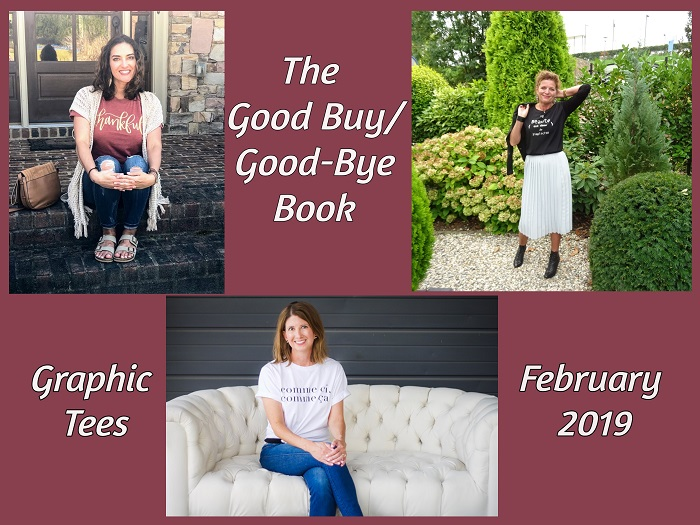 The Good Buy/Good-Bye Book: Graphic tee & Fancy Friday
