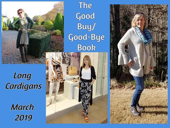 The Good Buy/Good-Bye Book: Long cardigans