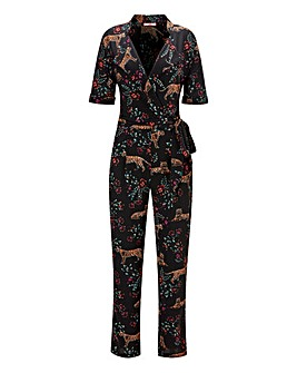 Ptint jumpsuit, spring clothes