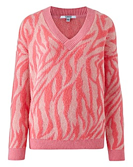 spring clothes, pink pullover