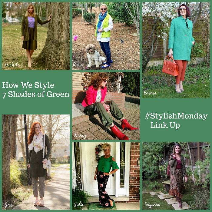 Wearing Green! Stylish Monday & linkup party