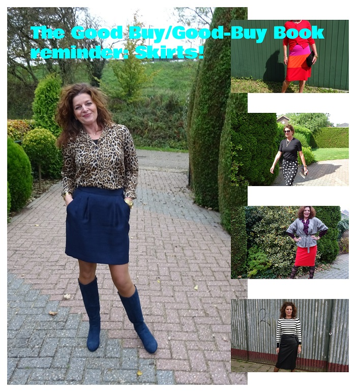The Good Buy/Good-Bye Book reminder: Skirts!