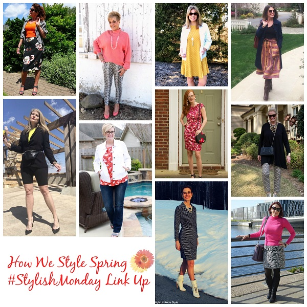 How we wear spring on Stylish Monday & linkup