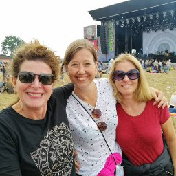 impression of our music festival weekend, with Celina, Anetten and I
