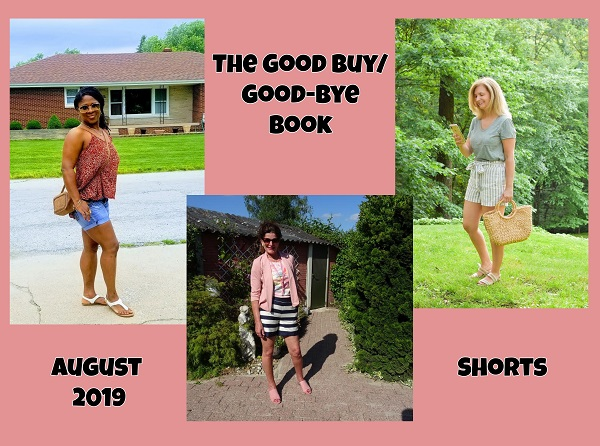 collage photo of fashion bloggers wearing shorts