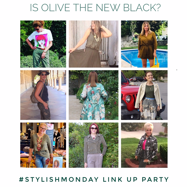 Is olive the new black? Stylish Monday