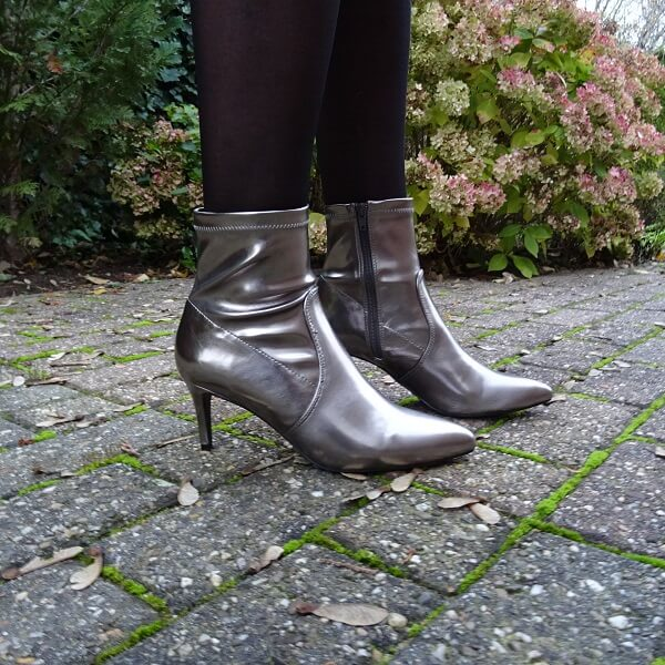 gun metal ankle boots
