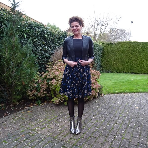 festive fasion with a lace and tulle dress