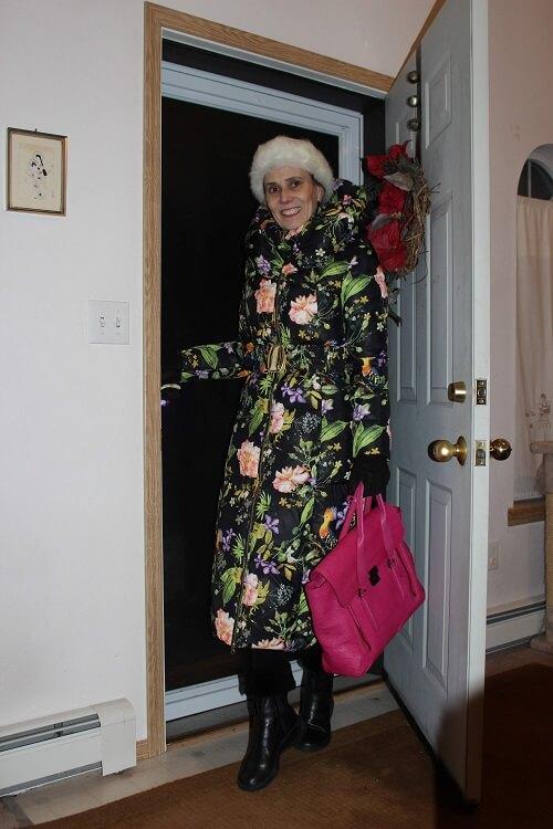 Alaskan fashion blogger Nicole