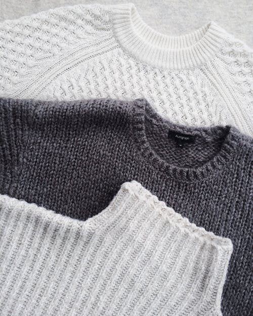 style statement with sweaters