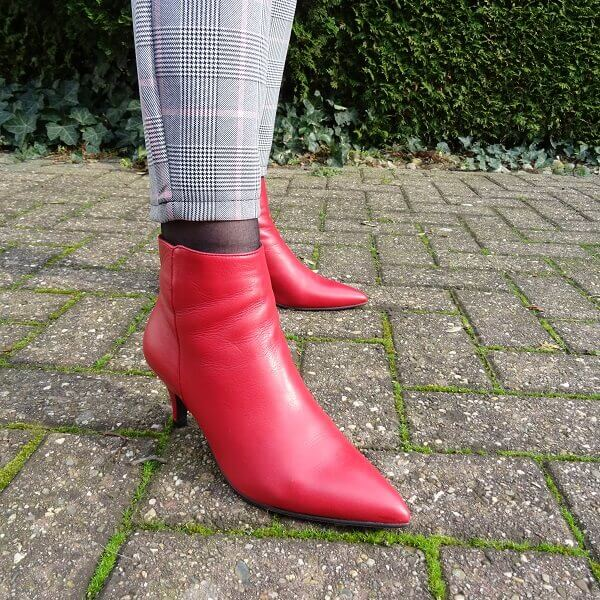 red queenie ankle boots