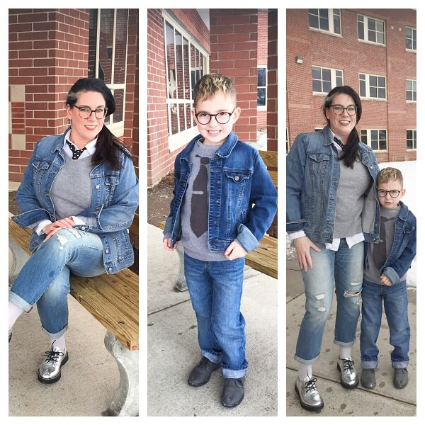denim jackets for mother and son