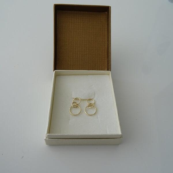 my new earrings
