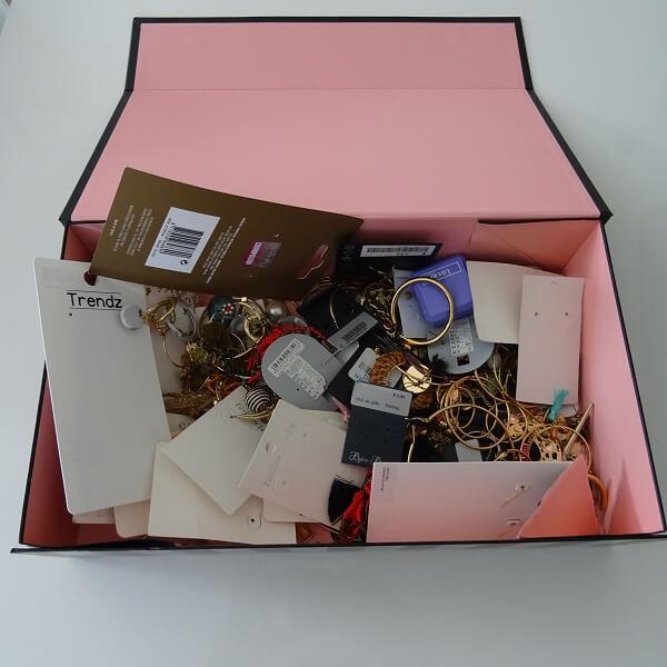 MY box of earrings