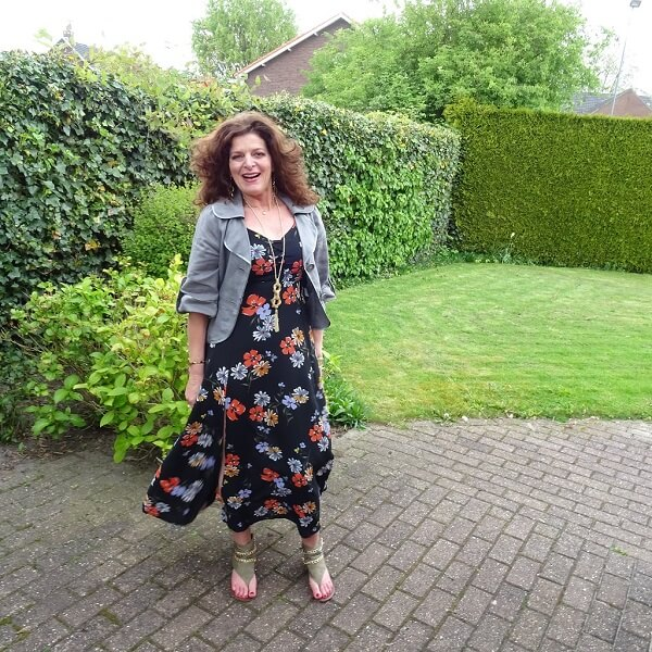 fresh floral dress