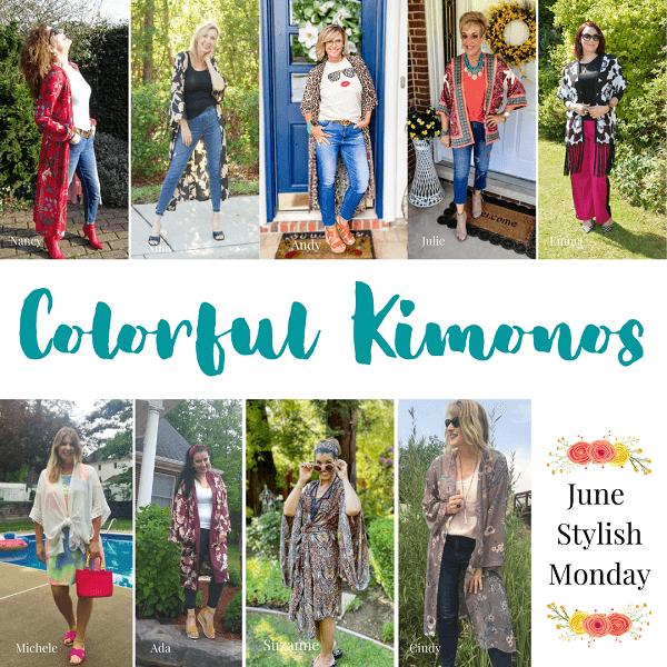 Kimono Style on Stylish Monday
