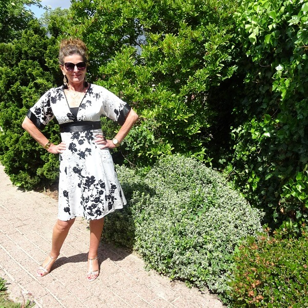 Kimono Dress & Fancy Friday linkup