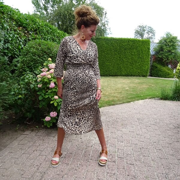 midi dress over 50