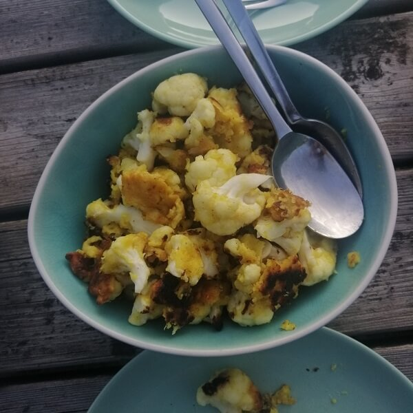 cauliflower as a side dish