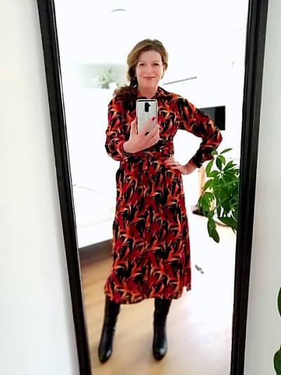 Shirt dress that I sold