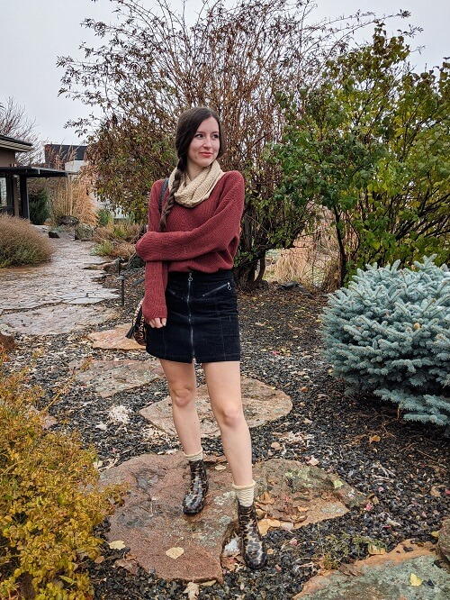 fashion bloggers series about pre loved fashion sparkly