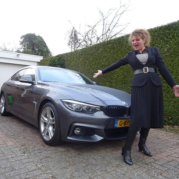 belted blazer and my new car