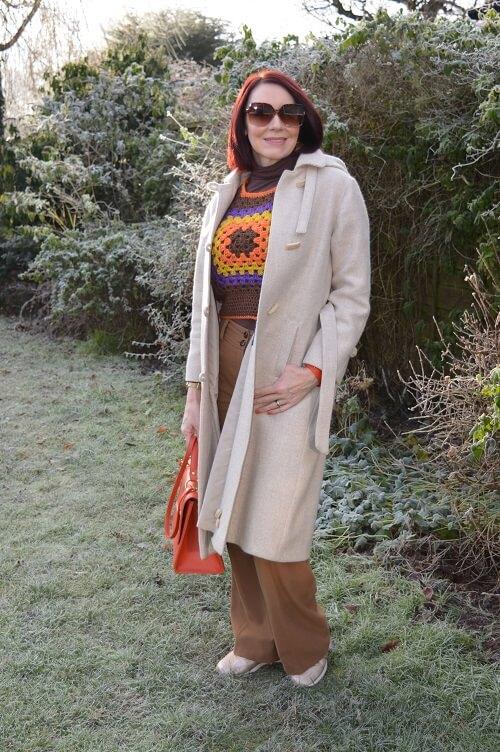 fashionable winter coat