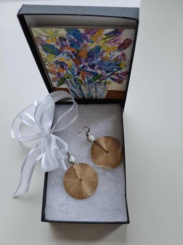 gifted earrings