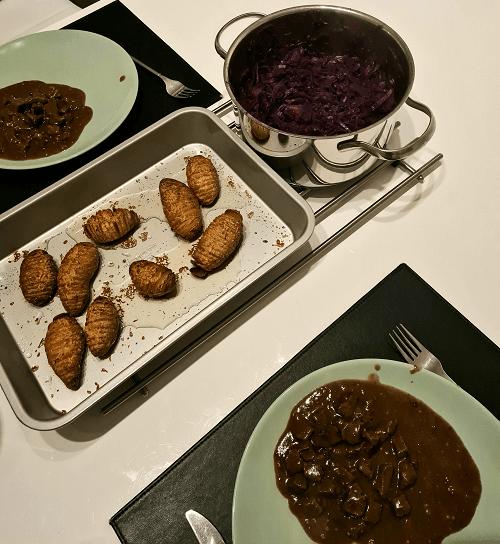Sundays dinner rain day