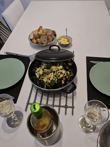 Mussels Irish way