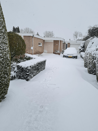 The front of our house