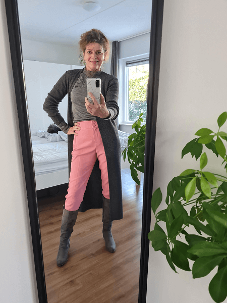 trousers in boots look