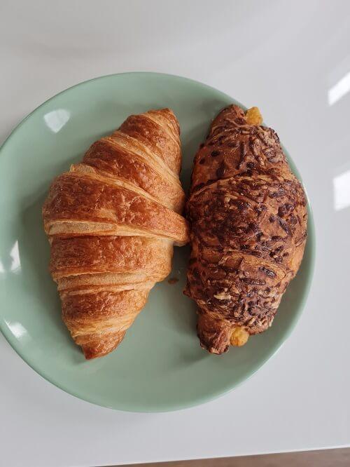 croissants for Saturday breakfast