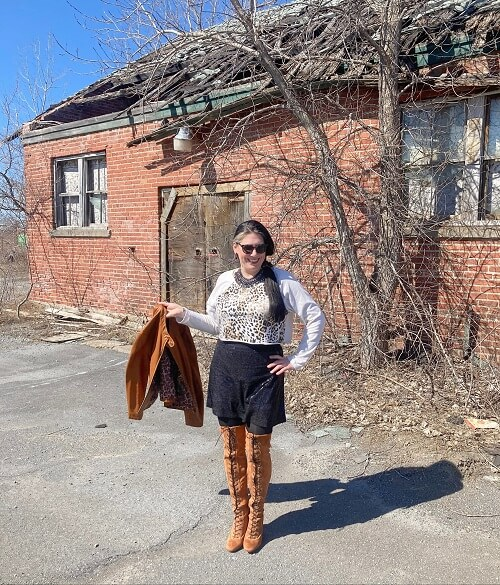 fashion blogger 's outfit