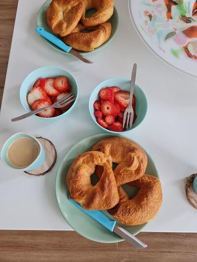 Sunday's breakfast
