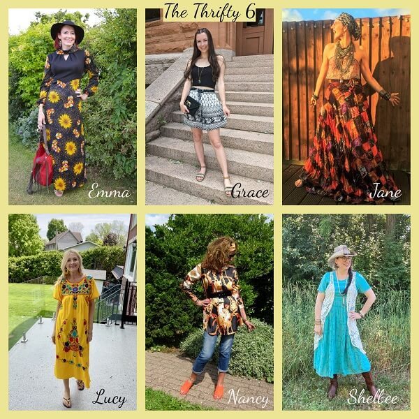 collage of Boho Mania outfits