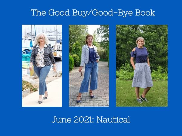 nautical theme at the blog