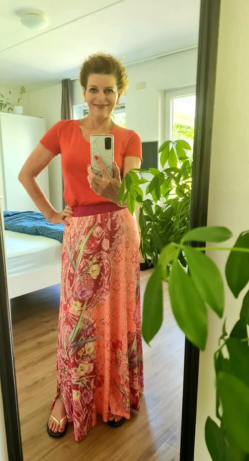 bbq weather means maxi skirts