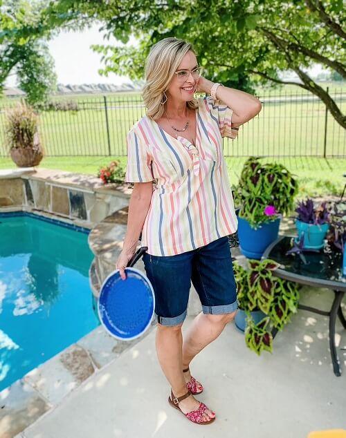 backyard BBQ fashion